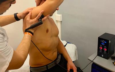 Tecarterapia e lesione del tricipite brachiale di uno sportivo